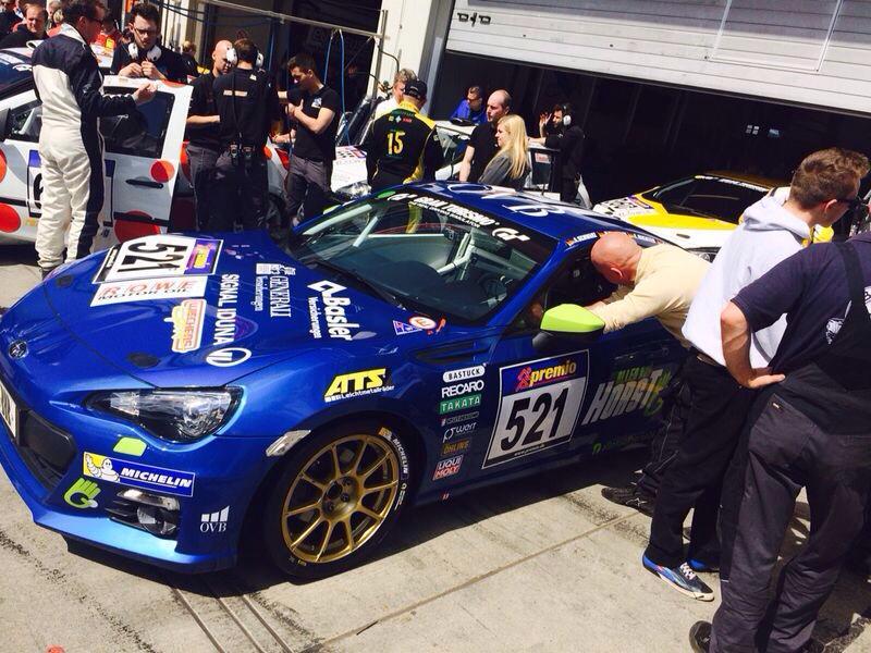 20 Horst Subaru BRZ practice