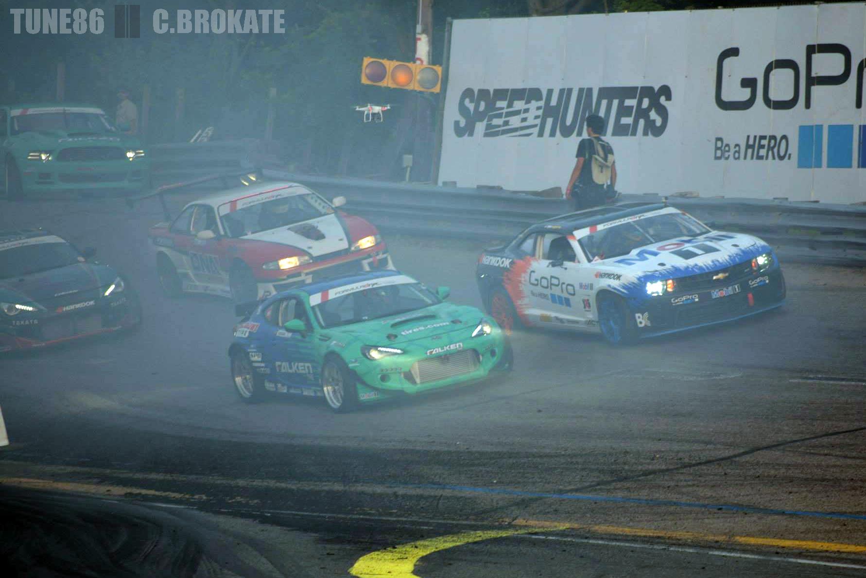 formula drift New Jersey Gauntlet wall