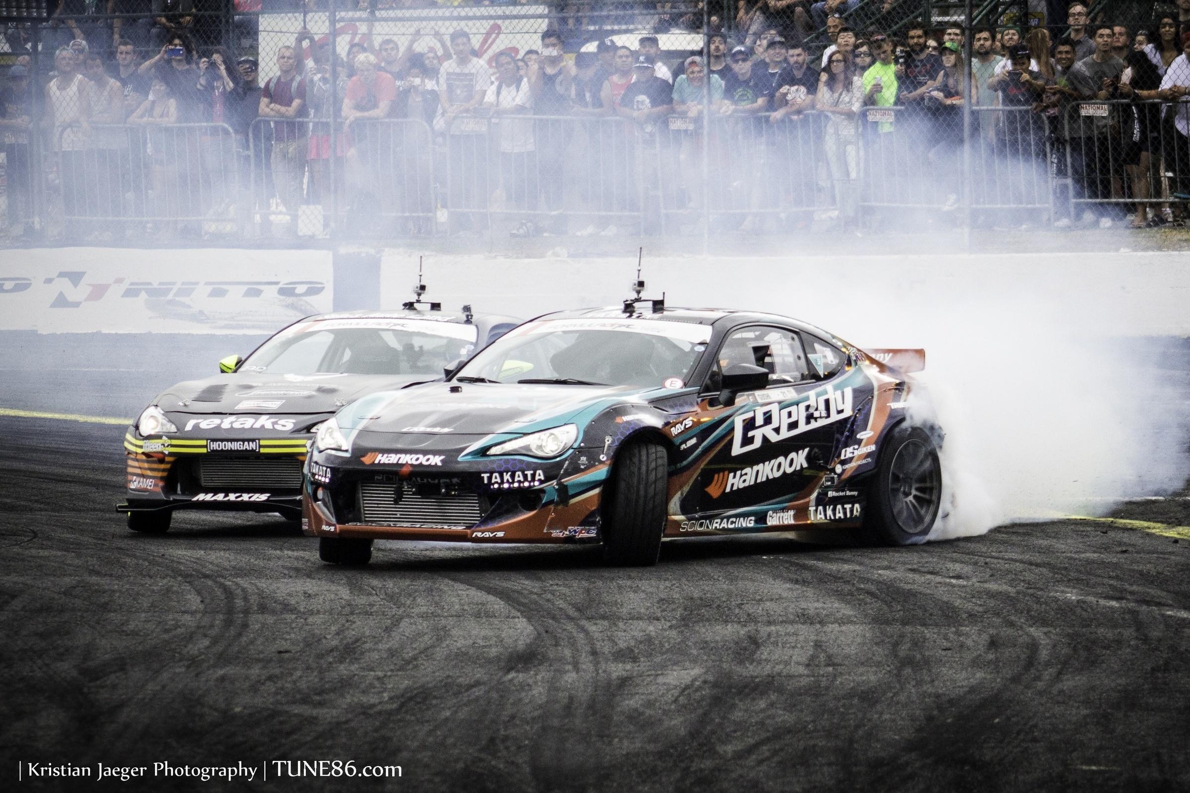Formula Drift Seattle Ken Gushi Ryan Tuerck 2JZ FRS01