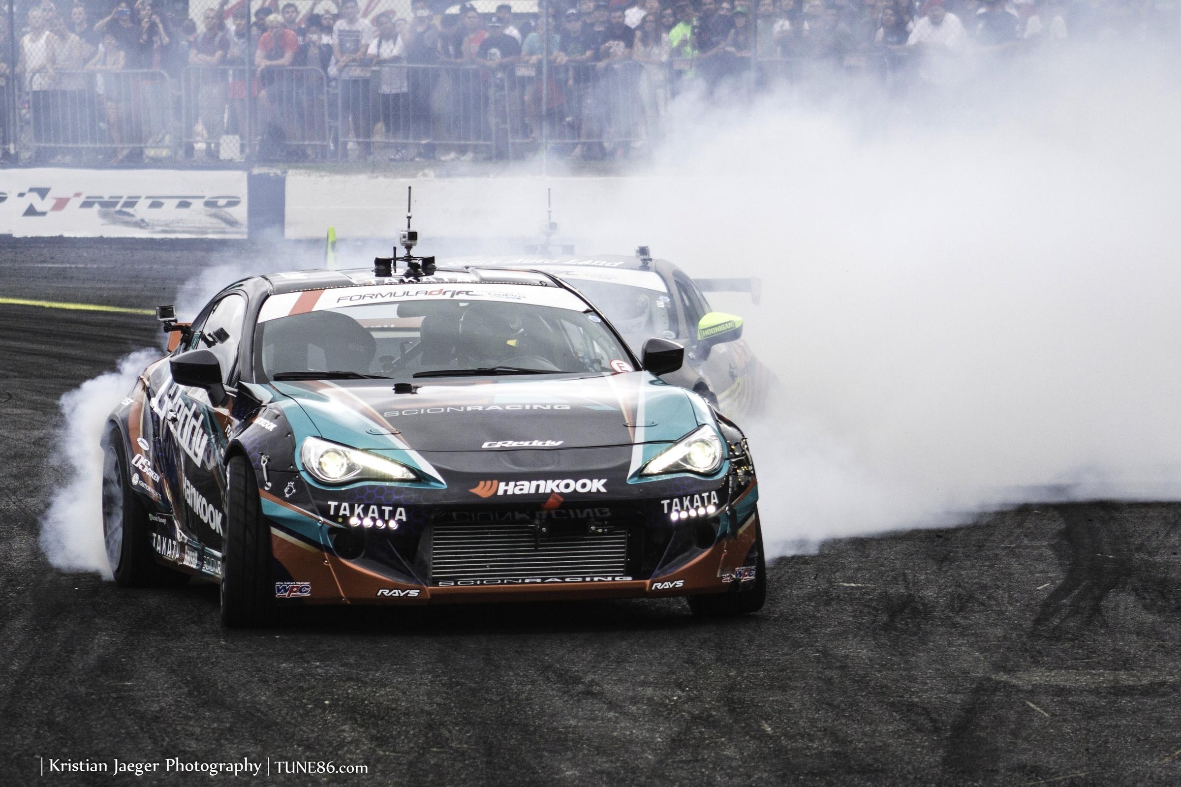 Formula Drift Seattle Ken Gushi Ryan Tuerck 2JZ FRS02