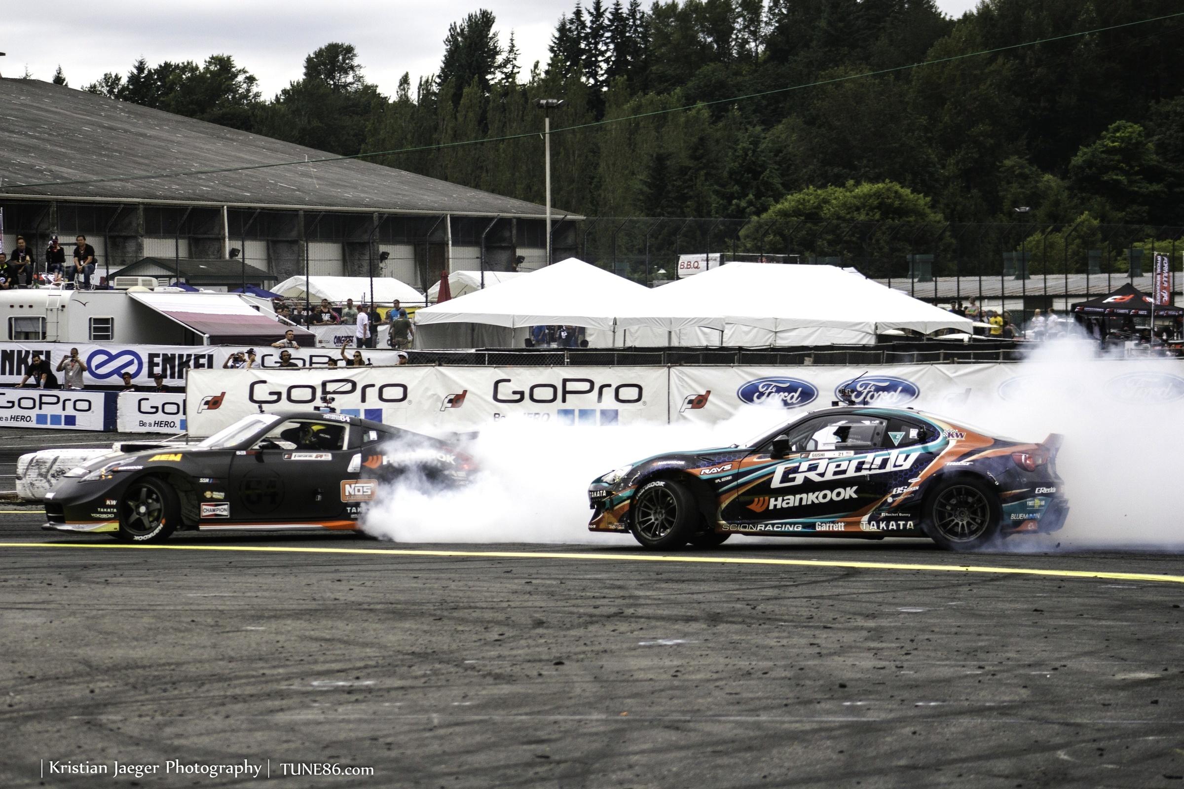 Formula Drift Seattle Ken Gushi Scion FRS08