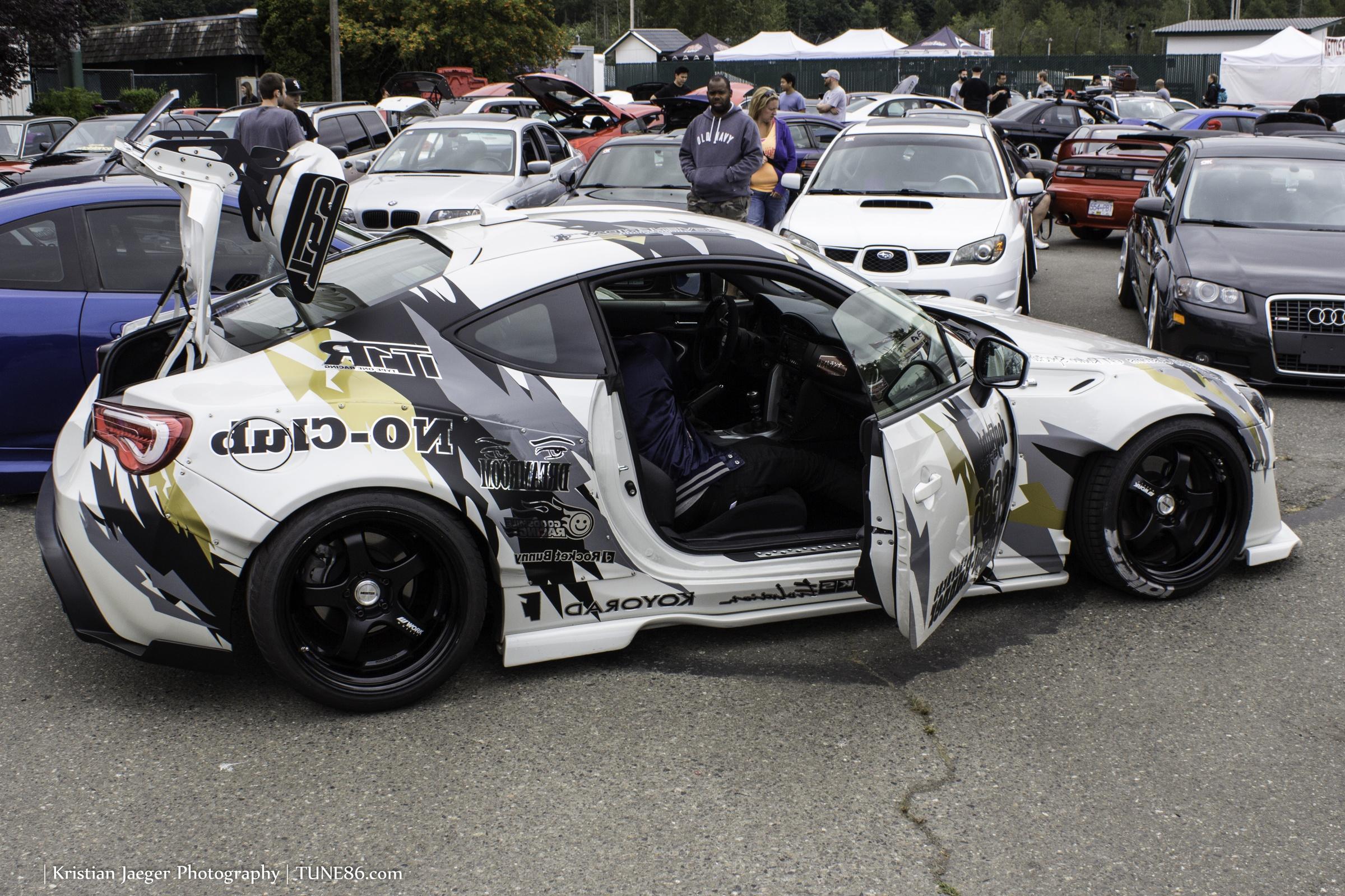 Formula Drift Seattle showcars FRS BRZ02