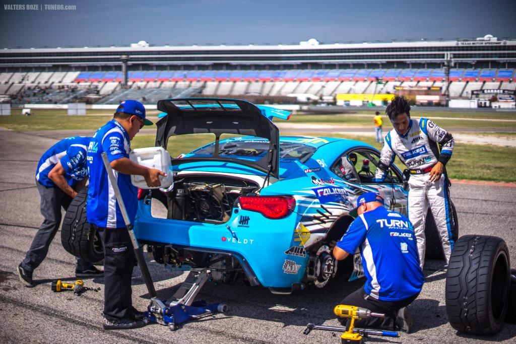 Falken team Subaru BRZ