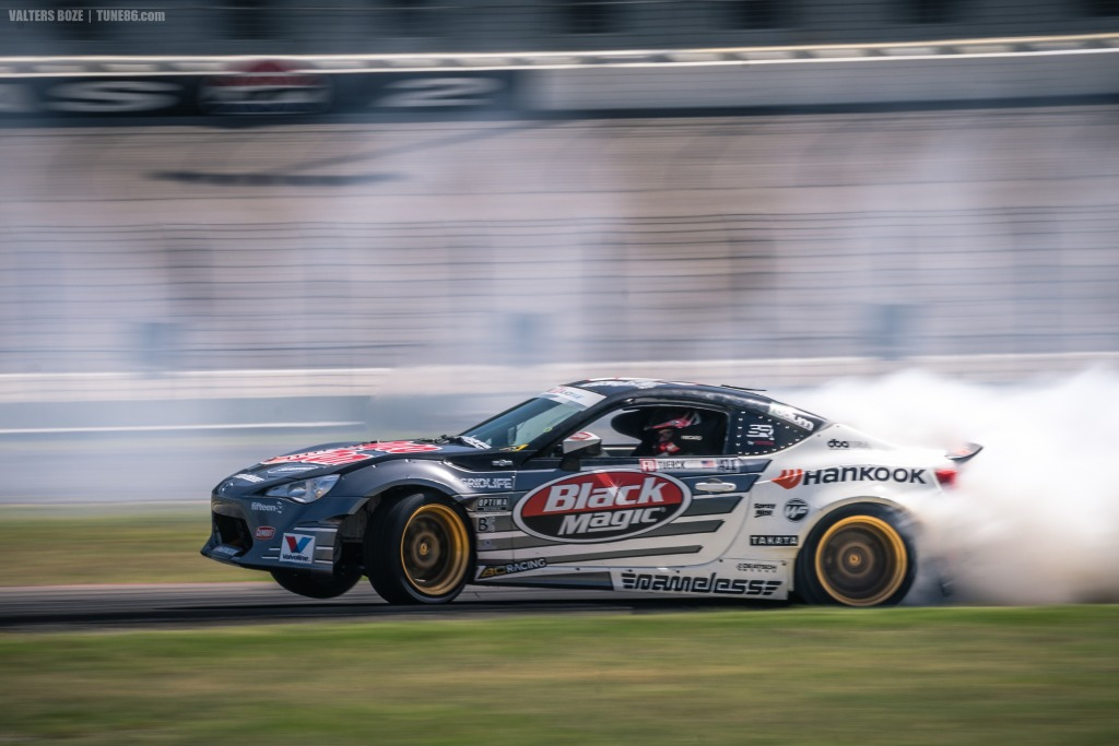 Ryan Tuerck Drifting Scion FRS at Formula Drift Texas 2016