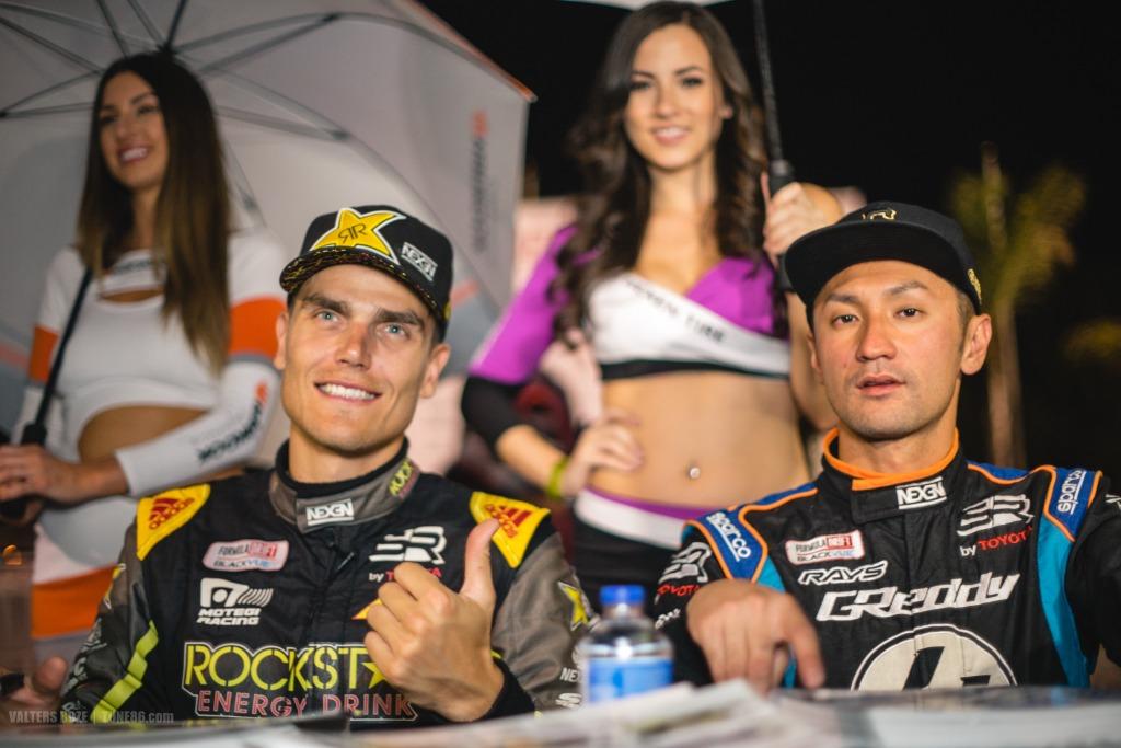 Formula Drift Irwindale 2016 Ken Gushi and Fredric Aasbo