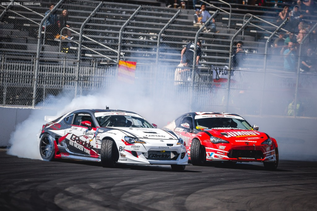 Ken Gushi and Ryan Tuerck Toyota 86 2jz drifting