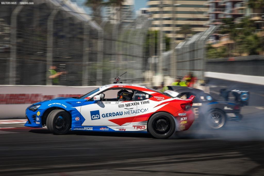 Jhonnattan Castro Toyota 86 vs Dean Kearney Formula Drift Long Beach