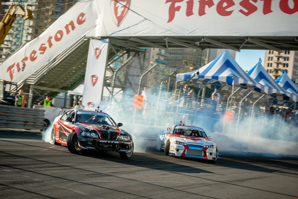 Alex Heilbrunn vs James Deane, Formula Drift Long Beach 2017