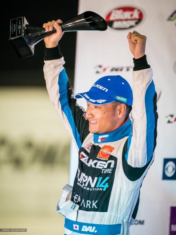 Daijiro Yoshihara, Formula D Irwindale 2017 podium