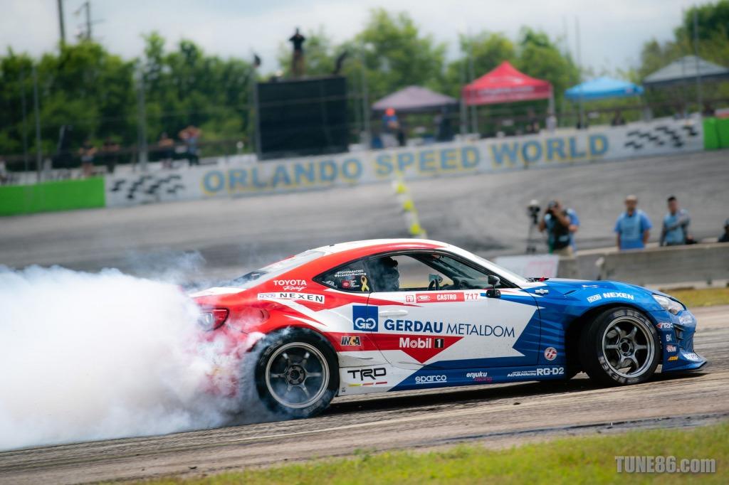 2019 Formula Drift Orlando Tune86 Toyota 86 Jhonnattan Castro 08532