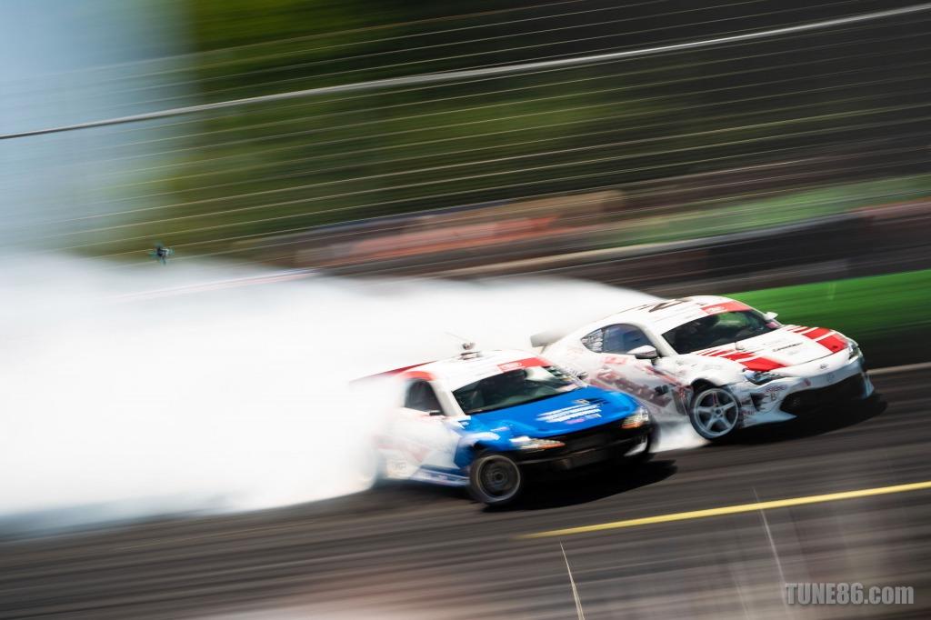 2019 Formula Drift Orlando Tune86 Toyota 86 Ken Gushi Jhonnattan Castro 03191