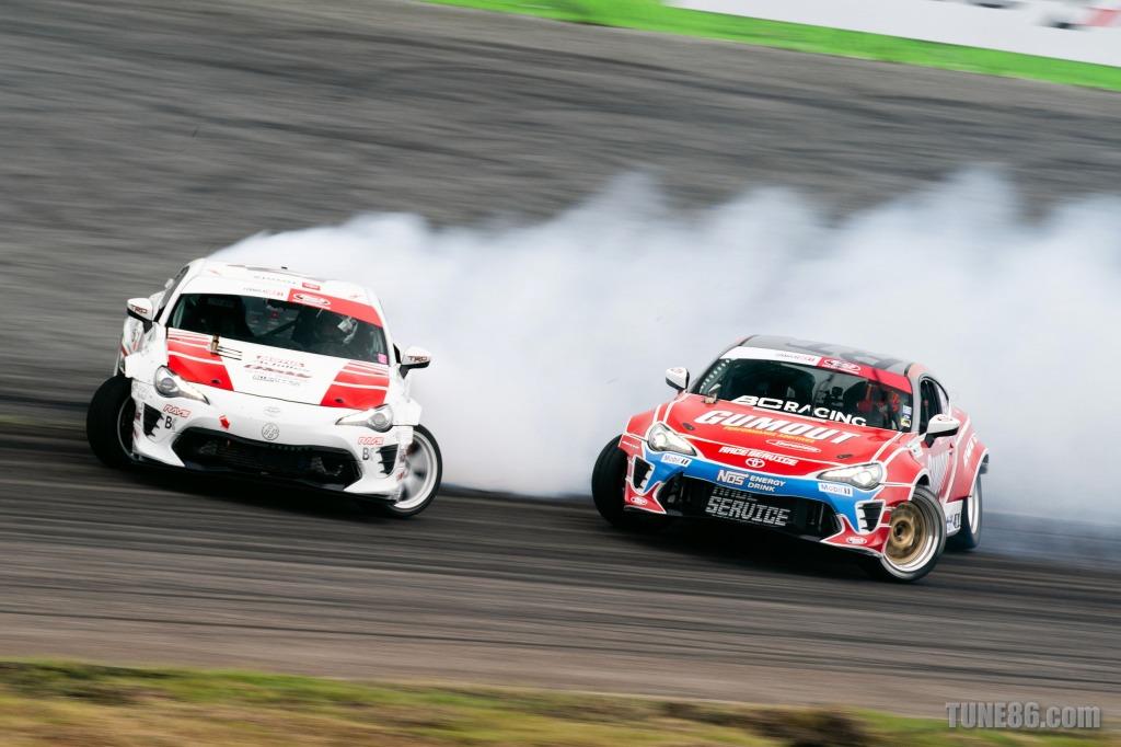 2019 Formula Drift Orlando Tune86 Toyota 86 Ken Gushi Ryan Tuerck 07774