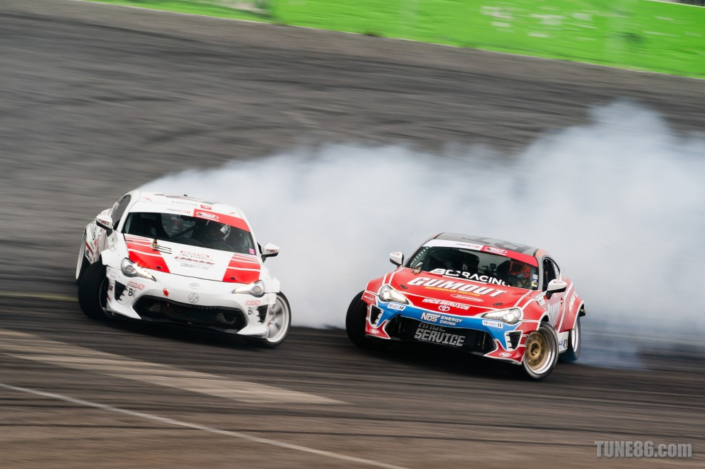 2019 Formula Drift Orlando Tune86 Toyota 86 Ken Gushi Ryan Tuerck 07778