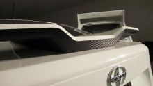 Limited Edition Makela Rear Wing carbon fiber