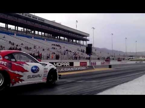 Subaru BRZ Test Pass Drag Racing 1600hp