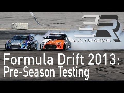 Formula Drift 2013 Recap: Pre-Season Testing