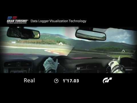 "Gran Turismo 5 ""Data Logger Visualization Technology"" Demo"