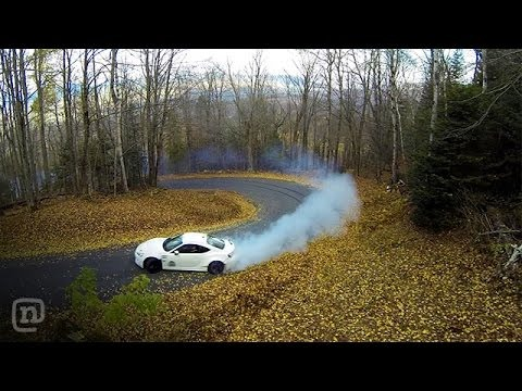 Tuerck Shreds Burke Mountain – The Ultimate FRS Drift Road!
