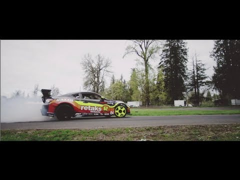 Maxxis Tires Driver Ryan Tuerck - 2JZ Scion FRS Test