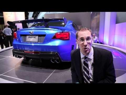 Subaru Brz Sti Concept 2011 La Auto Show Tune86