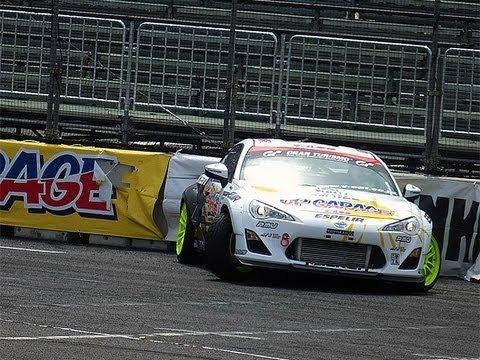 New86 turbo D1GP Crash Debut #lovecars #D1GP #drifting #GT86 #FR-S