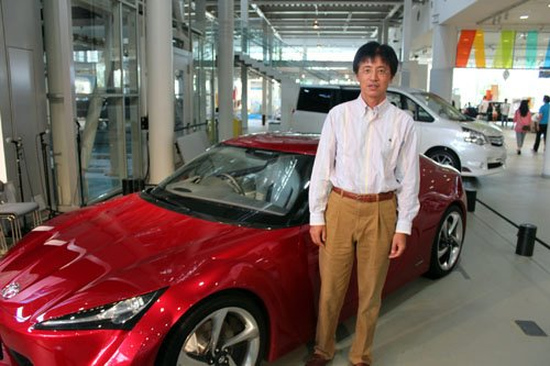 Tada Tetsuya & Toyota FT-86 Concept
